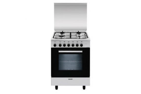 Glem AE55AI3 Cucina Libera Installazione Acciaio inossidabile