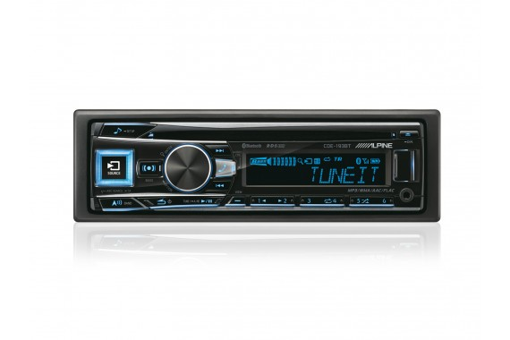 Alpine CDE-193BT Bluetooth Nero autoradio