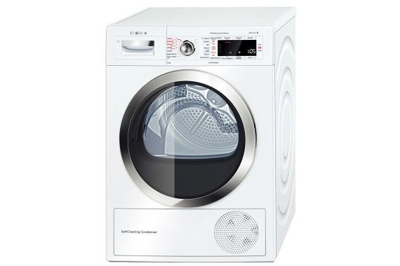 Bosch Serie 8 WTW855R9IT Libera installazione Carica frontale 9kg A++ Bianco asciugatrice