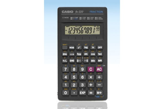 Casio FX-220 Tasca Calcolatrice scientifica Nero calcolatrice