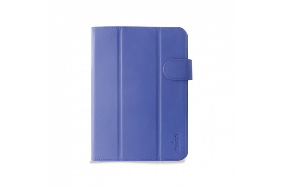 """PURO P-UNIBOOKEASY8BLUE 8"""" Custodia a libro Blu custodia per tablet"""