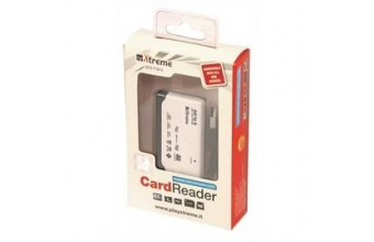 Xtreme 30790 All in 1 Mini Card Reader USB 2.0