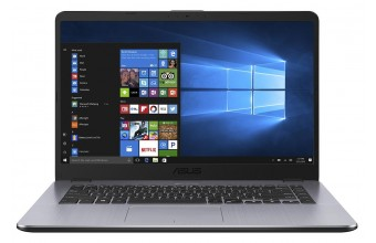 """Asus S505BP-BR078T 15.6"""" AMD A9 Ready HDD 1TB RAM 12GB Notebook Nero"""
