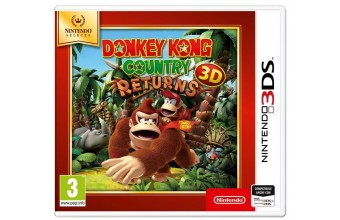 Nintendo Donkey Kong Country Returns 3D Select Nintendo 3DS ITA videogioco