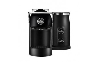 Lavazza Jolie & Milk con cappuccinatore Nero Macchina caffè