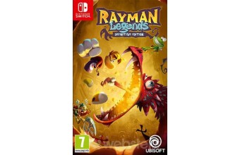 Ubisoft Rayman Legends Definitive Edition Nintendo Switch Videogame ITA