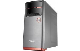 Asus VivoPC M32CD-K-IT012T 3GHz i5-7400 Torre Nero, Grigio, Arancione PC