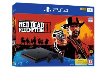 Sony PS4 1TB F + Red Dead Redemption 2 Console slim
