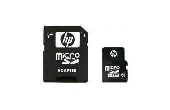 HP SDU16GBHC Scheda Micro SD HC 16GB Classe10 con adattatore SD