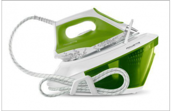 Rowenta VR8215 2200W 1.5L Microsteam 400 soleplate Verde, Bianco ferro da stiro a caldaia