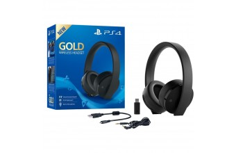 Sony Cuffie Gold Wireless Headset per Ps4