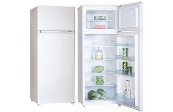 Schaub Lorenz ISDP250S Frigorifero Libera installazione 212L A+ Inox frigorifero con congelatore
