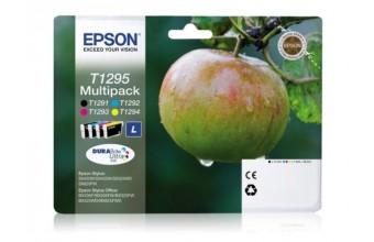 Epson T1295 7ml 11.2ml Nero, Ciano, Magenta, Giallo cartuccia d'inchiostro
