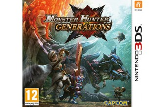 Nintendo Monster Hunter Generations Basic Nintendo 3DS Inglese videogioco