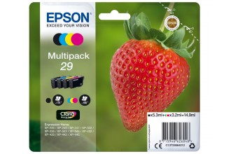 Epson Multipack 4-colours 29 Claria Home Ink 3.2ml 5.3ml Nero, Ciano, Magenta, Giallo 175pagine 180pagine cartuccia d'inchiostro