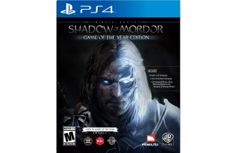 Warner Bros La Terra di Mezzo: L'Ombra di Mordor, GOTY, PS4