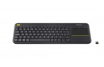 Logitech K400 Plus RF Wireless QWERTY Italiano Nero