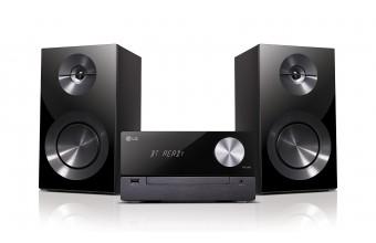 LG CM2460 Set micro 100W Nero set audio da casa