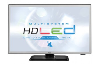 "Trevi 1902 SAT TV HEVC Multisystem 19"" HD 200cd/m² Nero A"