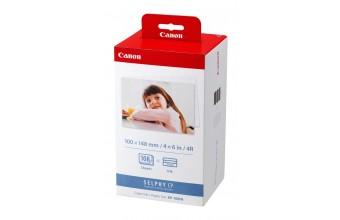 Canon KP-108IN Rosso, Bianco carta fotografica