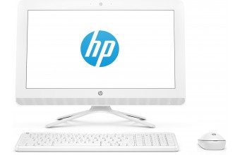 """HP 20-c061nl 1.6GHz J3060 19.5"""" 1600 x 900Pixel Bianco PC All-in-one"""
