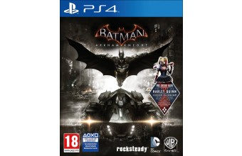 Warner Bros Batman Arkham Knight, PS4 Base+DLC PlayStation 4 ITA videogioco