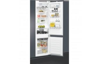 Whirlpool ART 9812/A+ SF Incasso 310L A+ Grigio, Argento frigorifero con congelatore