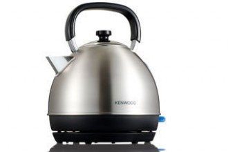 Kenwood SKM110 Traditional Kettle 1.6L Nero, Argento 2200W