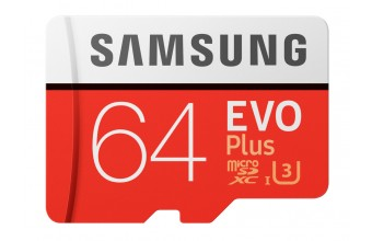 Samsung EVO Plus MB-MC64G 64GB MicroSDXC UHS-I Classe 10 memoria flash