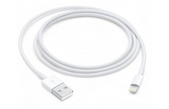 Apple MD818ZM/A 1m USB A Lightning Bianco cavo per cellulare