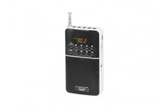 Trevi DR 7300 M Portatile Digitale Nero, Bianco radio