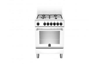 Bertazzoni La Germania Americana AMN604MFESWE Piano cottura Gas A Bianco cucina