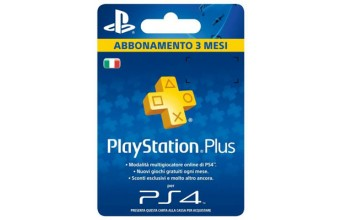 Sony Playstation Plus Card Hang 90D PlayStation 4