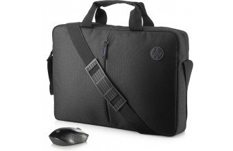 HP Value Briefcase and Wireless Mouse Kit