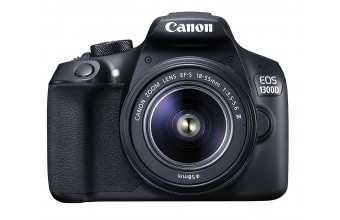 Canon EOS 1300D + EF-S 18-55 DC III Kit fotocamere SLR 18MP CMOS 5184 x 3456Pixel Nero