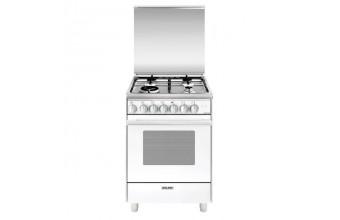 Glem U664MX Libera installazione Gas A Bianco cucina