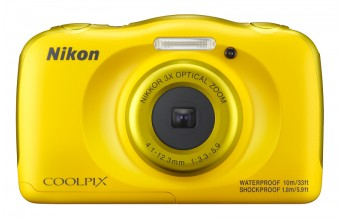 "Nikon COOLPIX W100 Kit Fotocamera compatta 13.2MP 1/3.1"" CMOS 4160 x 3120Pixel Giallo"