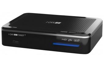 i-CAN 5000T+ Terrestre Nero set-top box TV