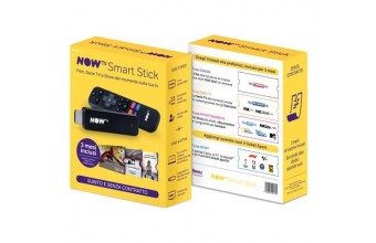 Sky NOW TV Smart Stick Full HD Wi-Fi Collegamento ethernet LAN Nero