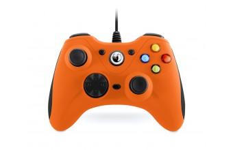 NACON GC-100XF Gamepad PC Nero, Arancione