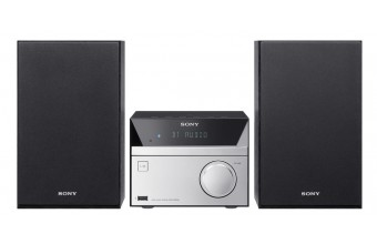 Sony CMTSBT20 Home audio micro system 12W Nero, Argento set audio da casa