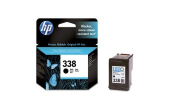 HP 338 Black Inkjet Print Cartridge Nero