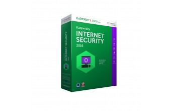 Kaspersky Lab Internet Security 2016, 1u, 1y, IT 1utente(i) 1anno/i ITA