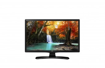 "LG 22TK410V 22"" Full HD LED Piatto Nero monitor piatto per PC LED display"