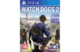 Ubisoft Watch Dogs 2 - PlayStation 4 Basic PlayStation 4 ITA videogioco