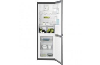 Electrolux EN3350MOX frigorifero con congelatore Libera installazione Acciaio inossidabile 311 L A++