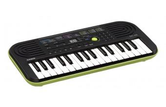 Casio SA-46 127keys Nero, Verde tastiera MIDI
