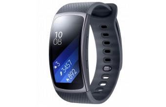 "Samsung Gear Fit2 Wristband activity tracker 1.5"" SAMOLED Senza fili IP68 Nero"