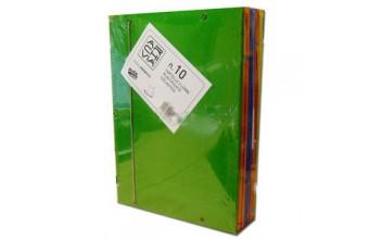 Papironia Cancelleria 153060 A4 Multicolore 10pezzo(i) cartella sospesa e accessorio
