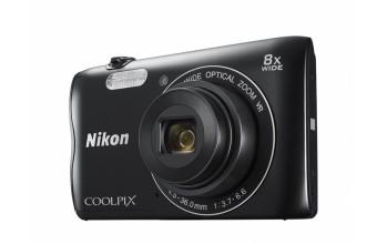 """Nikon COOLPIX A300 20.1MP 1/2.3"""" CCD 5152 x 3864Pixel Nero"""